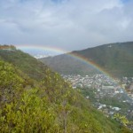 Hiking Mau'umae Ridge